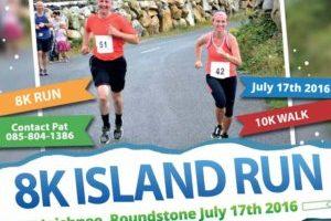 8K Island Run and 10 K Inishnee Loop Walk