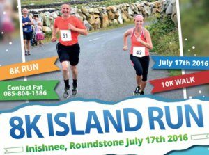 8K Island Run and 10 K Inishnee Loop Walk